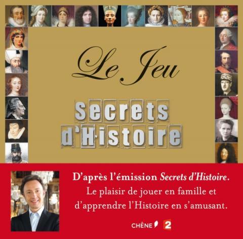 Coffret jeu : Secrets d'Histoire