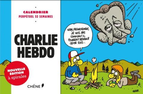 Calendrier 52 semaines Charlie Hebdo NED